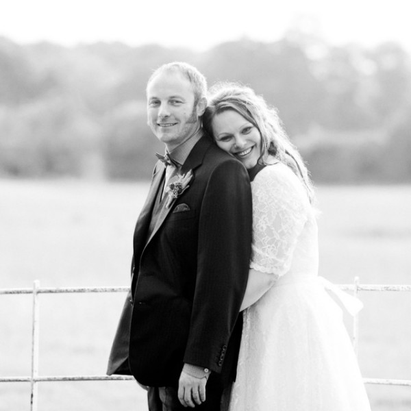 Gosfield Wedding Couple Photograph