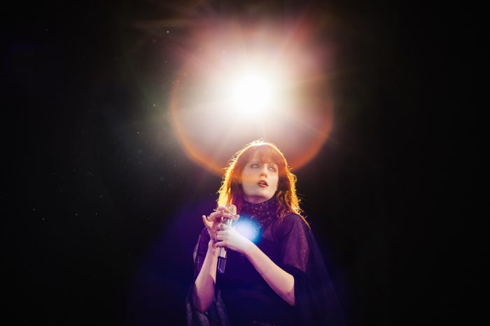 Florence Welch at V festival in Chelmsford
