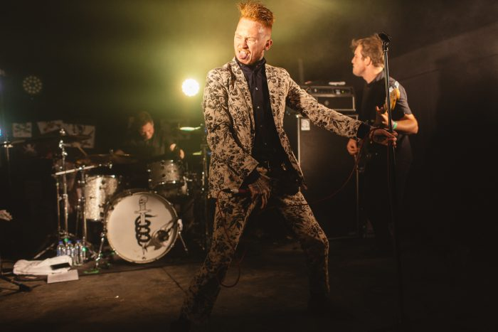 Frank Carter & The Rattlesnakes at Leefest