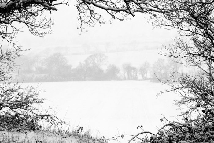 South Woodham Ferrers Snow Landscape