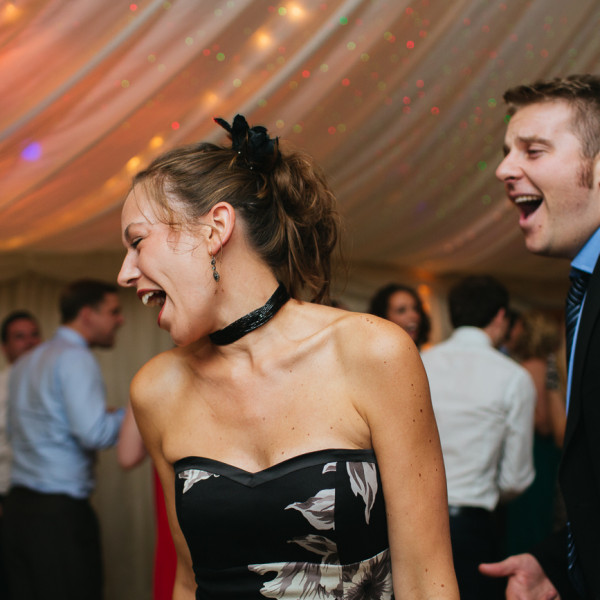 Newland hall reception dancing