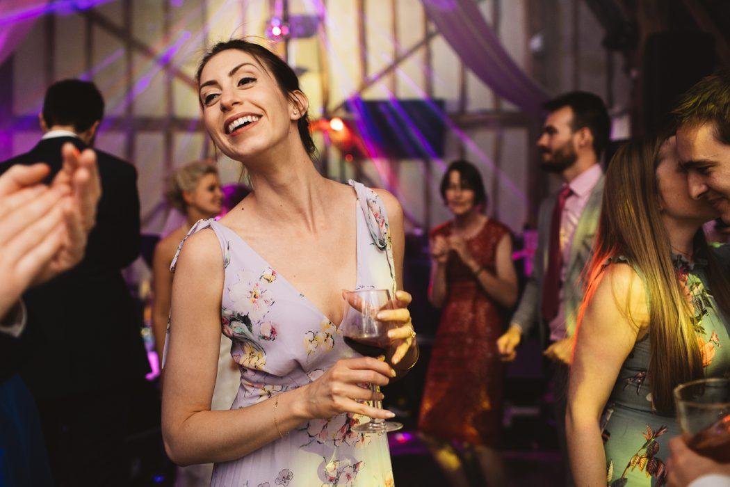 alpheton barn wedding reception dance floor guest