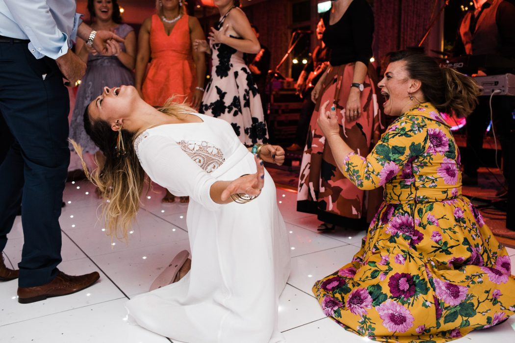 thunderstruck at wedding